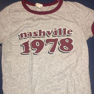 Forever 21 Short Sleeve Nashville Shirt